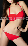 2017 New Sexy Fashion Bandeau two-piece swimsuit Women swimwear(02)-0420