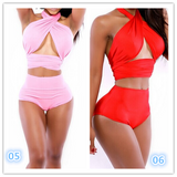 Summer fashion sexy bandage bikini Sexy Women swimwear Bath Swimwear -0518