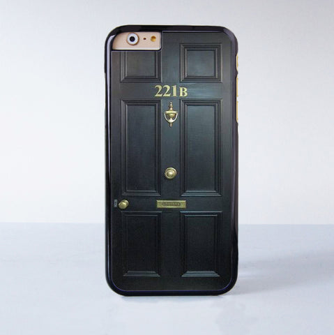 221B Plastic Case Cover for Apple iPhone 6 6 Plus 4 4s 5 5s 5c