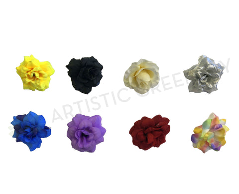 ACC0047-0008 Single Flower Head 45mm Diameter (Availabe in 8 Colours)