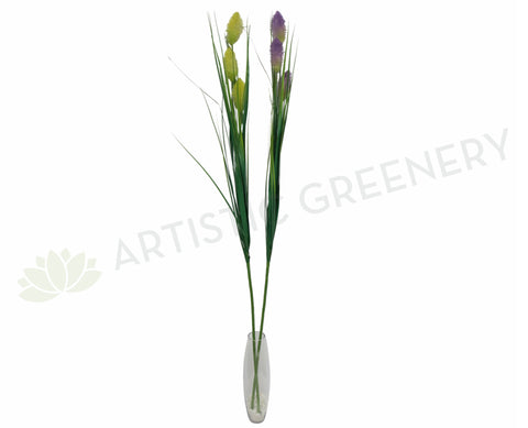 DS0034 Decor Stick with Yellow or Purple Flower 165cm