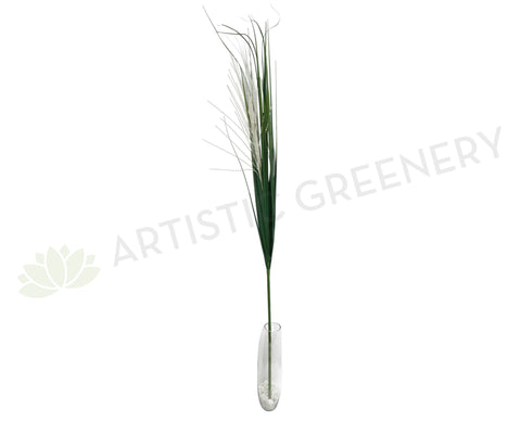 Green Decor Stick with White Tips 160cm