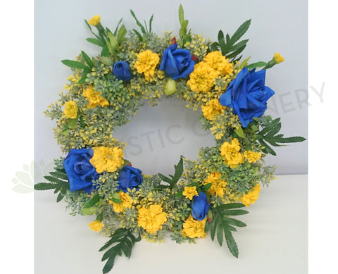 Eagles Theme Floral Wreath 30cm / 40cm / 50cm