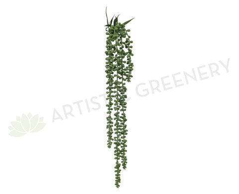 HP0043 String of Pearls Plant Real Touch 67cm Green