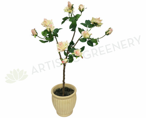 ROSESET139 Real Touch Rose Plant Set 110cm - Custom Made