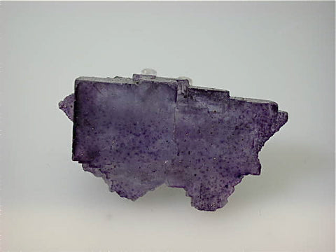 SOLD Fluorite, Sub-Rosiclare Level, Bahama Pod, Denton Mine, Ozark-Mahoning Company, Harris Creek District, Southern Illinois Small cabinet 3 x 4 x 7 cm $75. Online 5/10