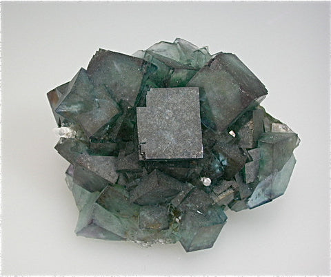 SOLD Fluorite, Okaruso Mine, Otjiwarongo District, Otjosondjupa Region, Namibia Small cabinet 6 x 6.5 x 9 cm $225. Online 3/14
