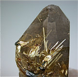 Hematite on Quartz with Rutile inclusions, Minas Gerais, Brazil Small cabinet 4.5 x 6 x 8.5 cm $450. Online 4/26