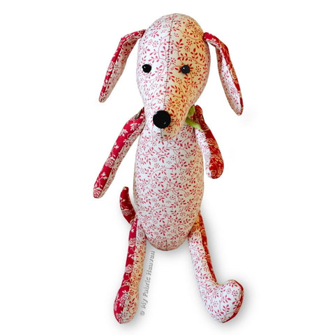 "Dainty Dachshund 12"" Dog Printed Sewing Pattern"