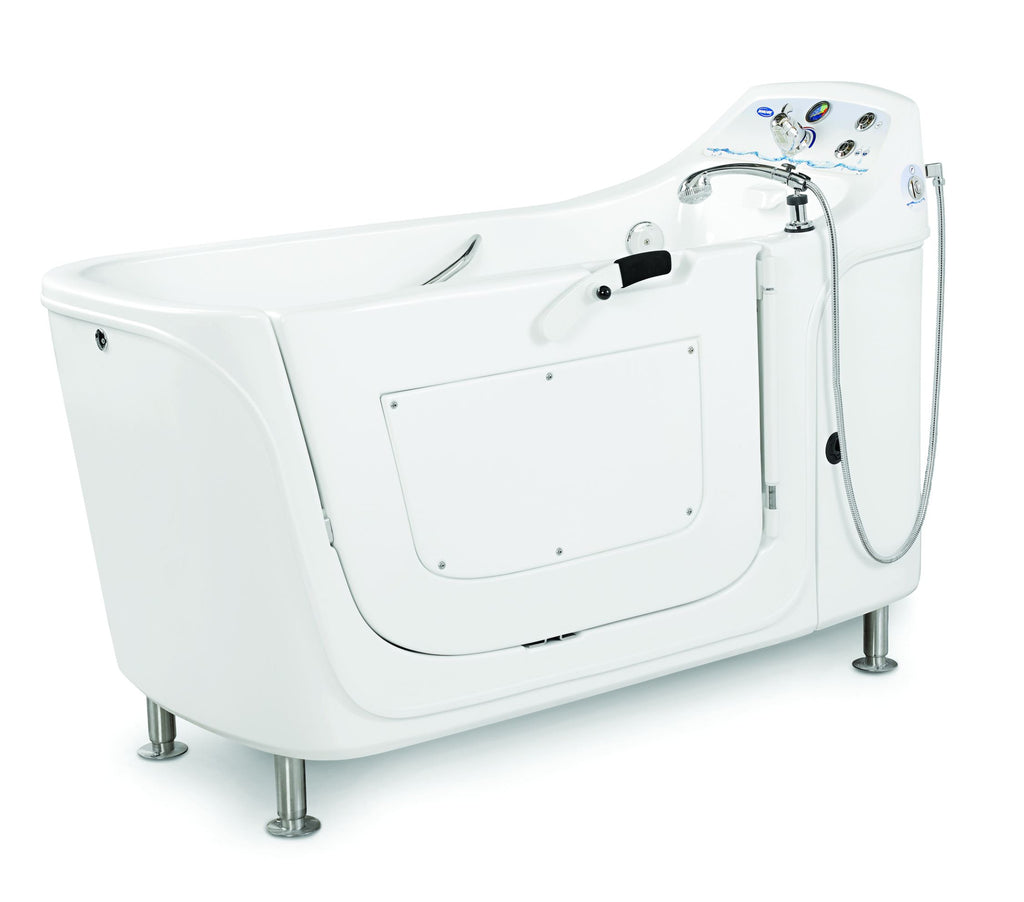 Invacare Silcraft IH3652G Free standing Whirlpool tub for Assisted Living, now with Pipeless™ technology.