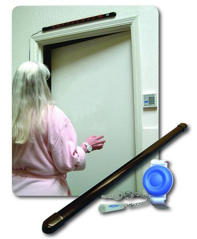 New SmartCareGiver Single Door Smart Door Monitor System, TL3005SYSR2 updated for 2015-16
