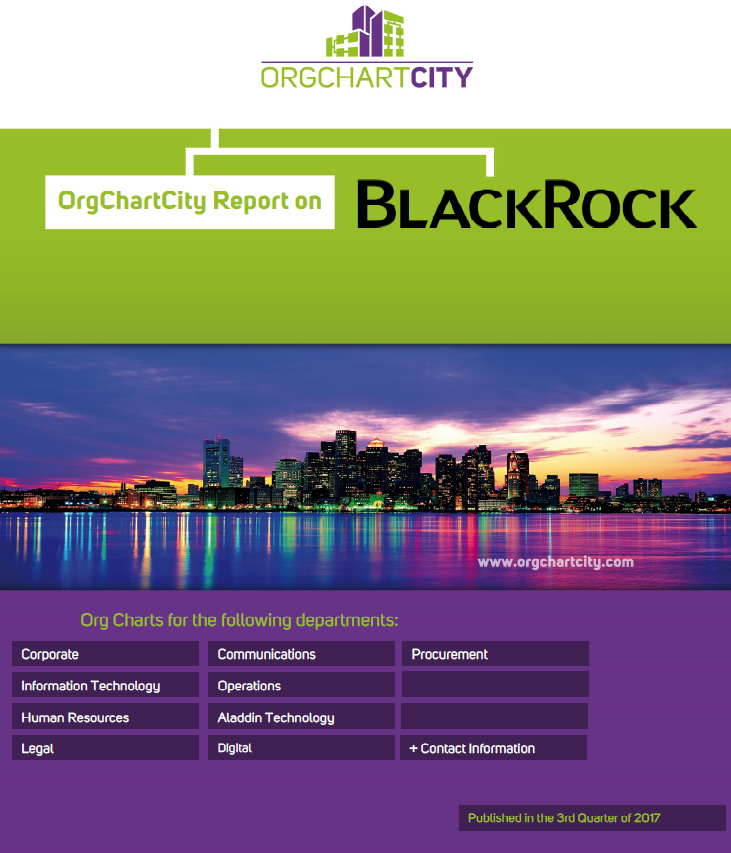 BlackRock Org Charts by OrgChartCity