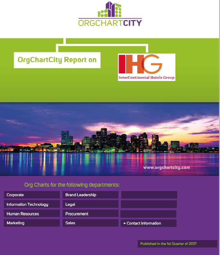 Intercontinental Hotels Group Org Charts by OrgChartCity
