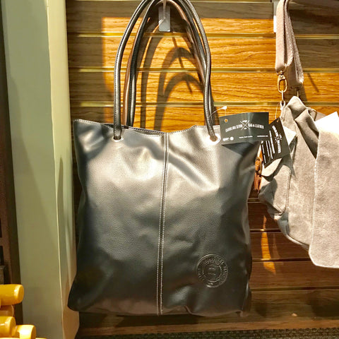 Faux Leather Tote with Seminary Seal