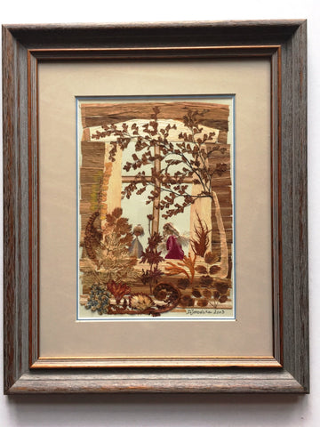 Pressed Botanical, Floral Collage