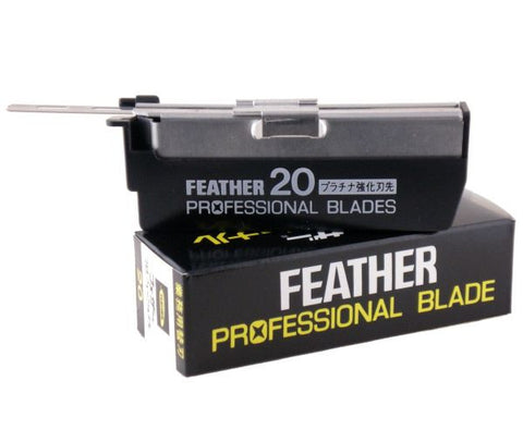 "Feather ""Professional"" Razor Blades - 20 Pack"