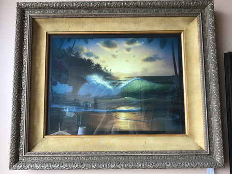 Al Hogue Wave Painting