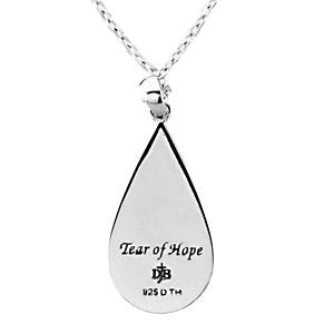 Sterling Silver Tear of Hope™ Pendant