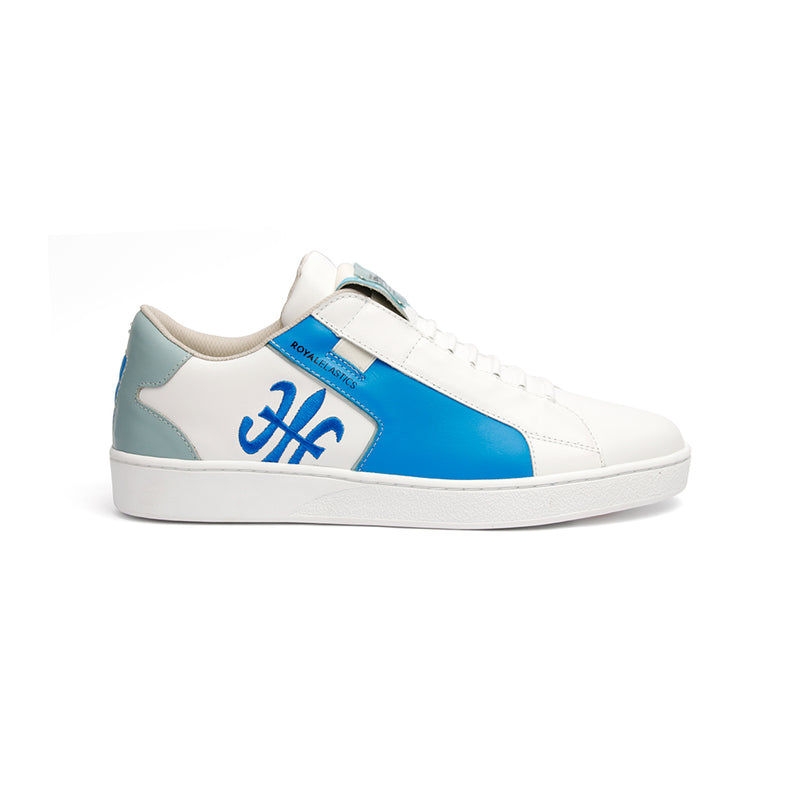 Men's Adelaide Blue Leather Sneakers 02692-055 - ROYAL ELASTICS