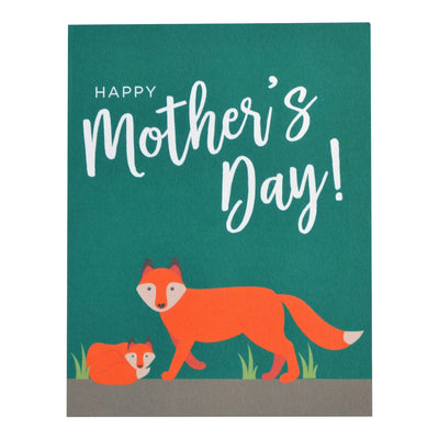 Fox Mother's Day card by REVEL & Co.