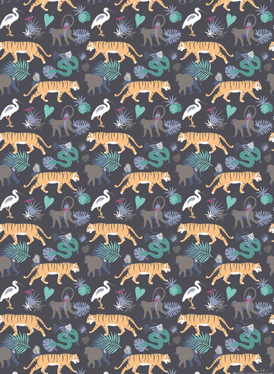 Jungle wrapping paper by Revel & Co.