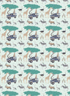 Safari Gift Wrap Sheet