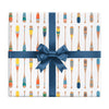 Paddles wrapping paper by REVEL & Co.