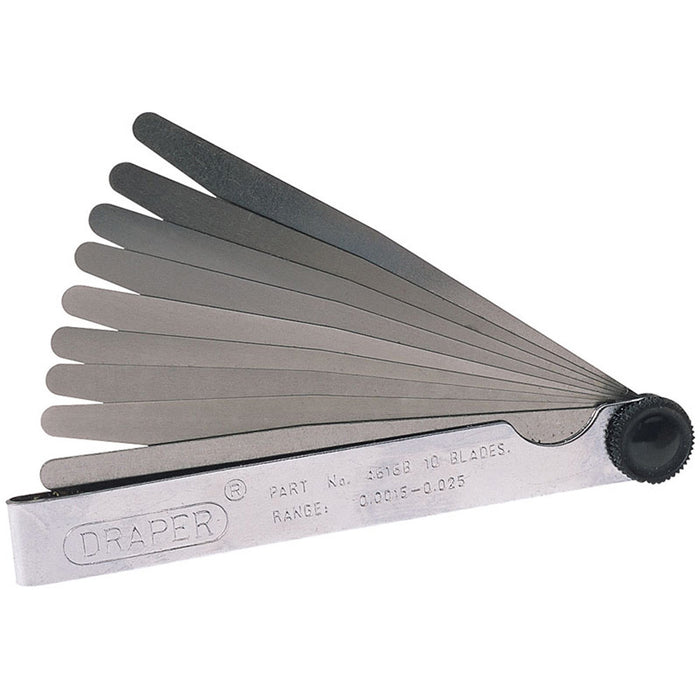 Draper 36174 10 Blade Imperial Feeler Gauge Set