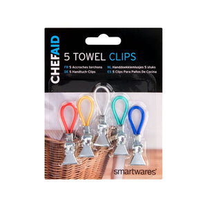 Chefaid 5 Towel Clips