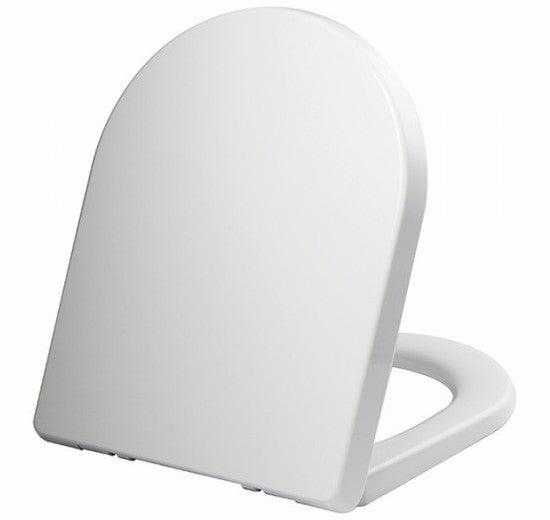 Aqualona 77566 D Shape Toilet Seat White