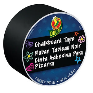 Duck 284877 Chalkboard Tape - Black