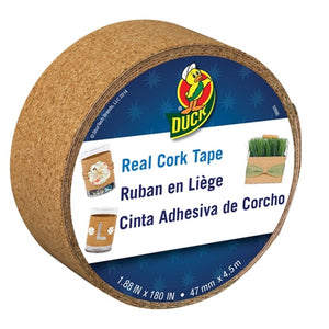 Duck 284879 Real Cork Board Tape