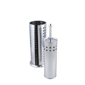 Sabichi 95534 Stainless Steel Squares Toilet Brush & Roll Holder
