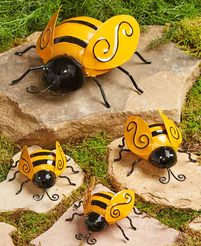 Garden Bumble Bee Family