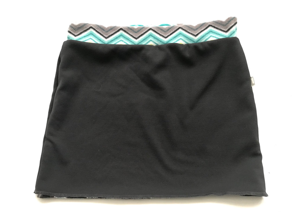 Bum Warmers- Charcoal w/ Chevron