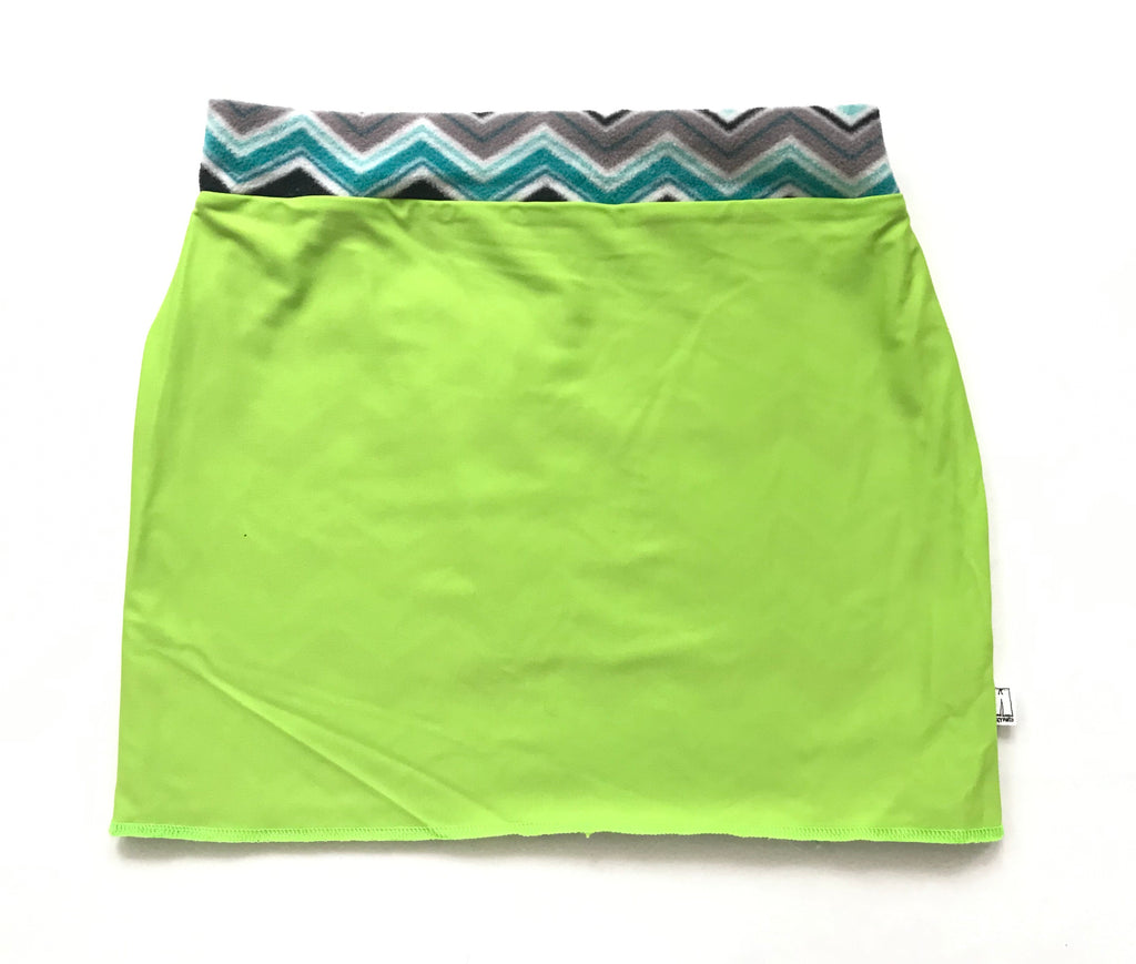 Bum Warmers-Lime & Grey Design