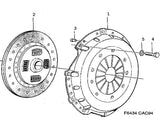 Genuine Saab Clutch Kit (3 Piece) (8781551) - 9000 - Saab Parts Depot  - 3