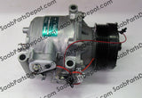 New A/C Compressor - Sanden Oem  65646002036 (4635892) - 9-3 - Saab Parts Depot  - 7