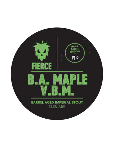 Fierce Beer - B.A Maple Very Big Moose