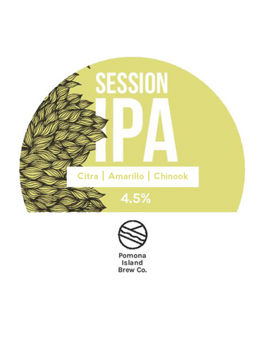 Draft: Pomona Island - Citra Amarillo Chinook Session IPA (4.5%)