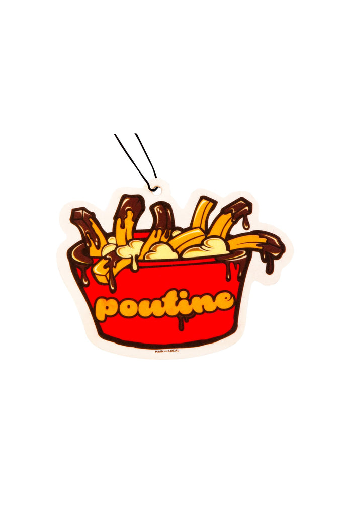Main And Local - Poutine Air Freshener