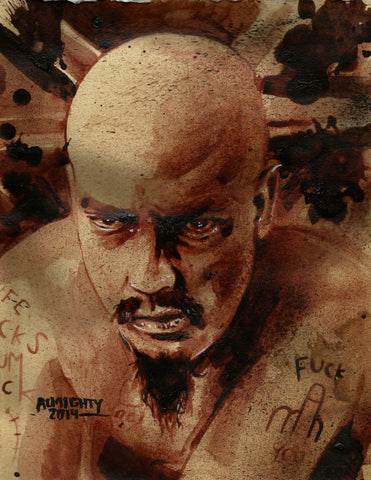 GG ALLIN, Limited edition print (50) Signed/numbered
