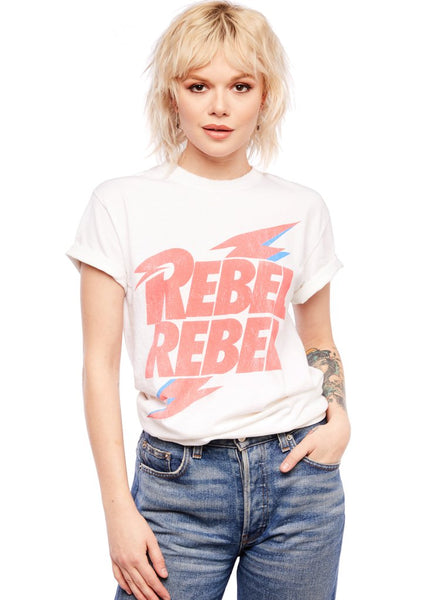 rebel rebel david bowie tshirt