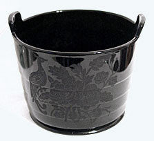 Paden City - Peacock & Wild Rose - Ebony Ice Tub