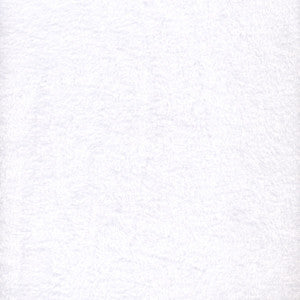 "60"" White Fleece"