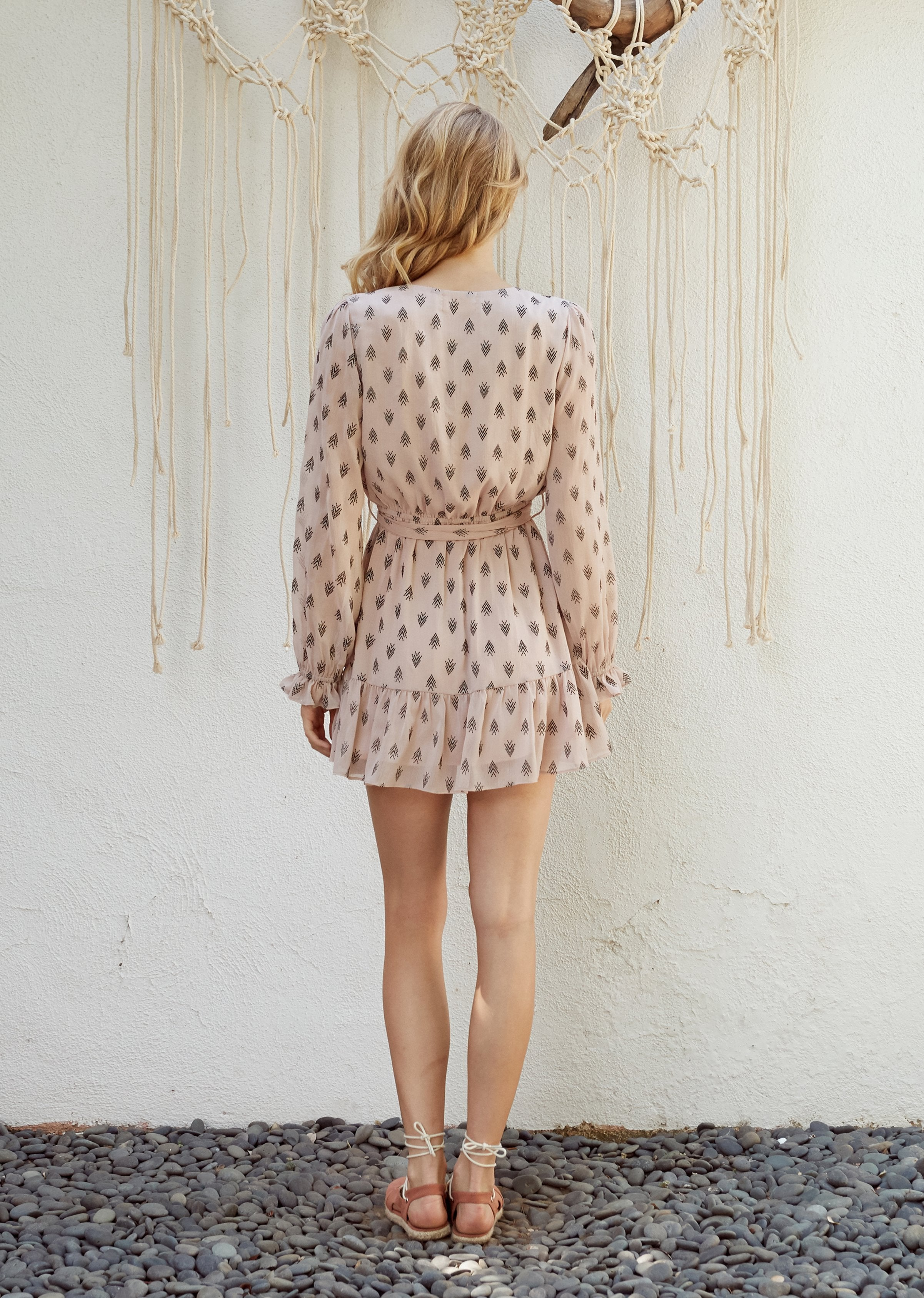Lost + Wander Brooke Tie Dress