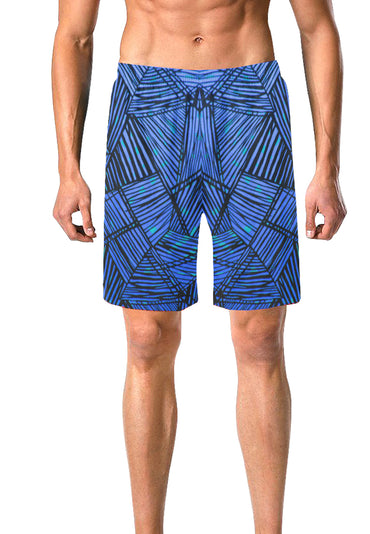 Safari Board Shorts- Blue