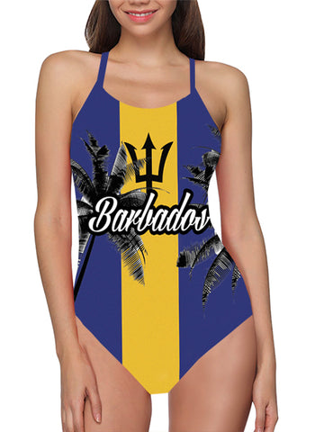 Barbados Flag Bathing Suit