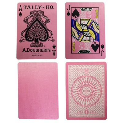 Tally Ho Reverse Circle Back Playing Cards by US Playing Card Co.