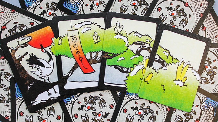 Hanami Hanafuda Playing Cards by Legends Playing Card Co.
